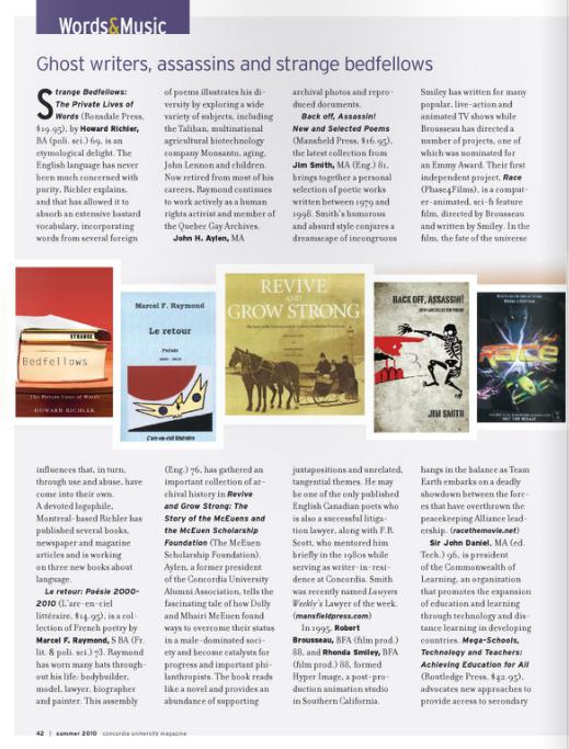 Concordia Magazine 2012 summer