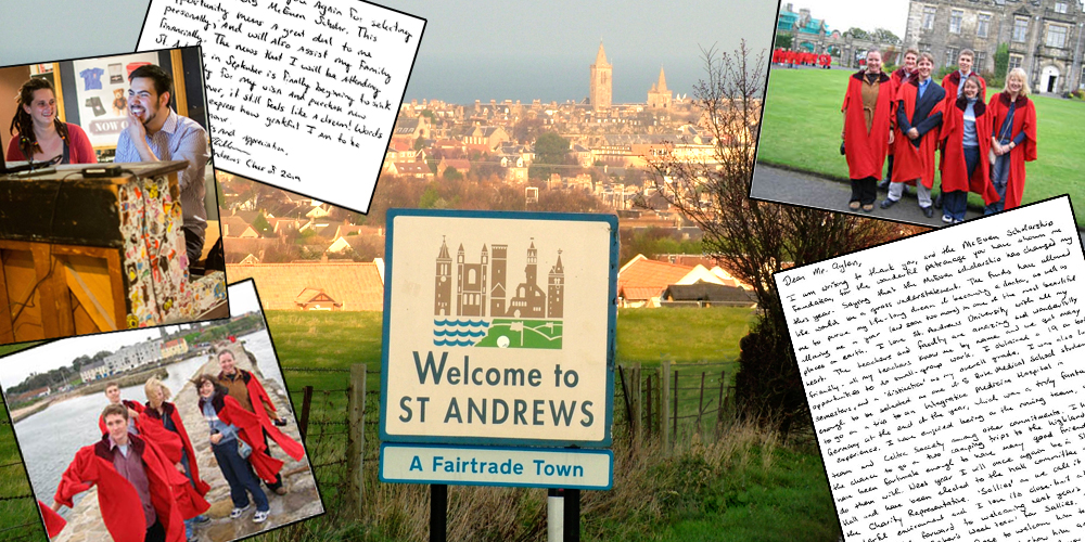 Main background photo courtesy of the University of St Andrews