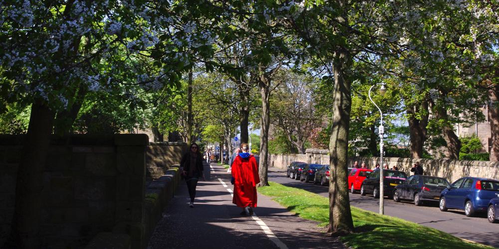 Photo courtesy of the University of St Andrews